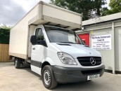 PP Van Sales - Used Vans Yorkshire - Mercedes-Benz Sprinter 316 CDI XLWB 16FT Luton Box Van