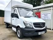 PP Van Sales - Used Vans Yorkshire - Mercedes-Benz Sprinter 314 CDI LWB Luton Van & Tail Lift