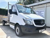 PP Van Sales - Used Vans Yorkshire - Mercedes-Benz Sprinter 314 CDI LWB 13.5ft Dropside