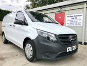 PP Van Sales - Used Vans Yorkshire - Mercedes-Benz Vito Long 111 CDI