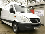PP Van Sales - Used Vans Yorkshire - Mercedes Sprinter 310 LWB