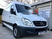 PP Van Sales - Used Vans Yorkshire - SOLD - Mercedes-Benz Sprinter 313 LWB