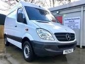 PP Van Sales - Used Vans Yorkshire - SOLD - Rare Mercedes-Benz Sprinter SWB Van