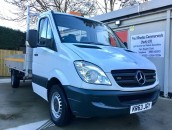 PP Van Sales - Used Vans Yorkshire - SOLD - Mercedes-Benz Sprinter 313 13.5ft Dropside Pick-Up