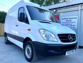 PP Van Sales - Used Vans Yorkshire - SOLD - Mercedes-Benz Sprinter SWB Van