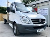 PP Van Sales - Used Vans Yorkshire - SOLD - Mercedes-Benz Sprinter 313 LWB 13.5ft Dropside