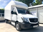 PP Van Sales - Used Vans Yorkshire - SOLD - Mercedes-Benz Sprinter 313 Luton