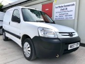 PP Van Sales - Used Vans Yorkshire - Peugeot Partner