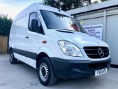 PP Van Sales - Used Vans Yorkshire - Mercedes-Benz Sprinter 310 SWB