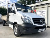 PP Van Sales - Used Vans Yorkshire - Mercedes-Benz Sprinter 313 14ft Dropside Pick-Up
