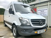 PP Van Sales - Used Vans Yorkshire - Mercedes-Benz Sprinter 316 CDI MWB Panel Van