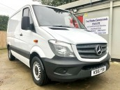 PP Van Sales - Used Vans Yorkshire - Mercedes-Benz Sprinter 310 CDI SWB